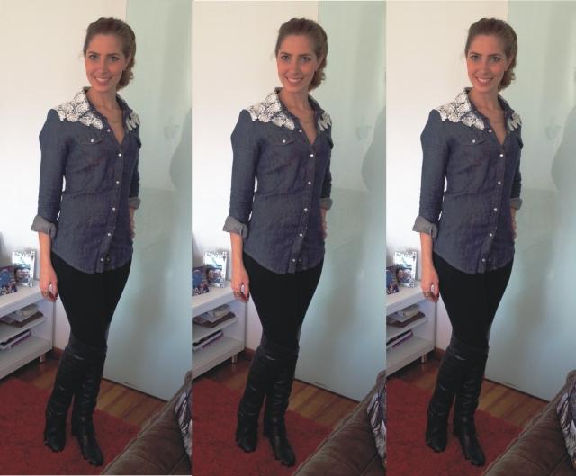 Camisa Jeans _ Arianne Ribeiro