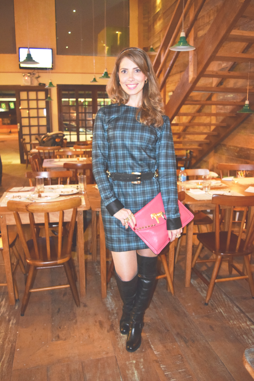Vestido _ Xadrez _ Arianne Ribeiro