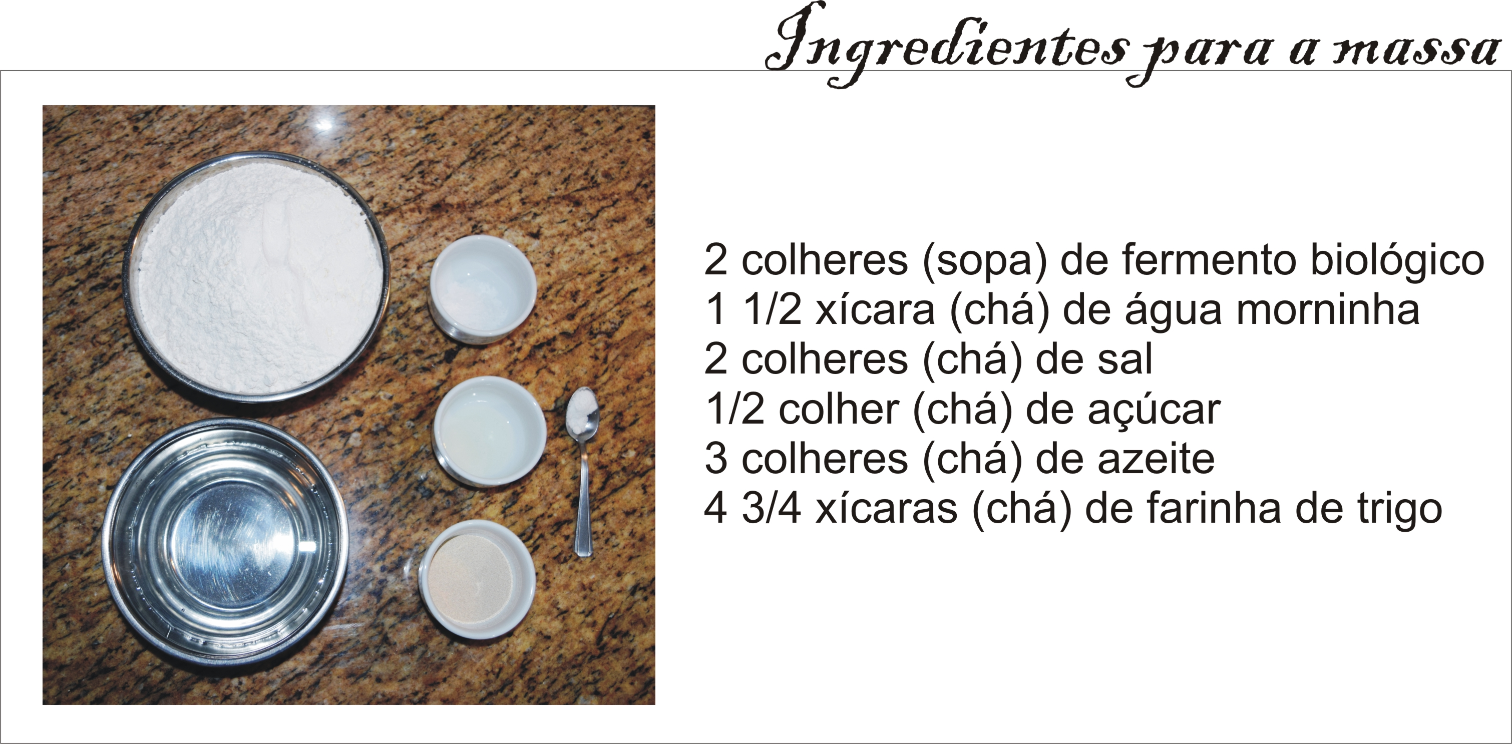 Ingredientes _ pizza _ Arianne Ribeiro