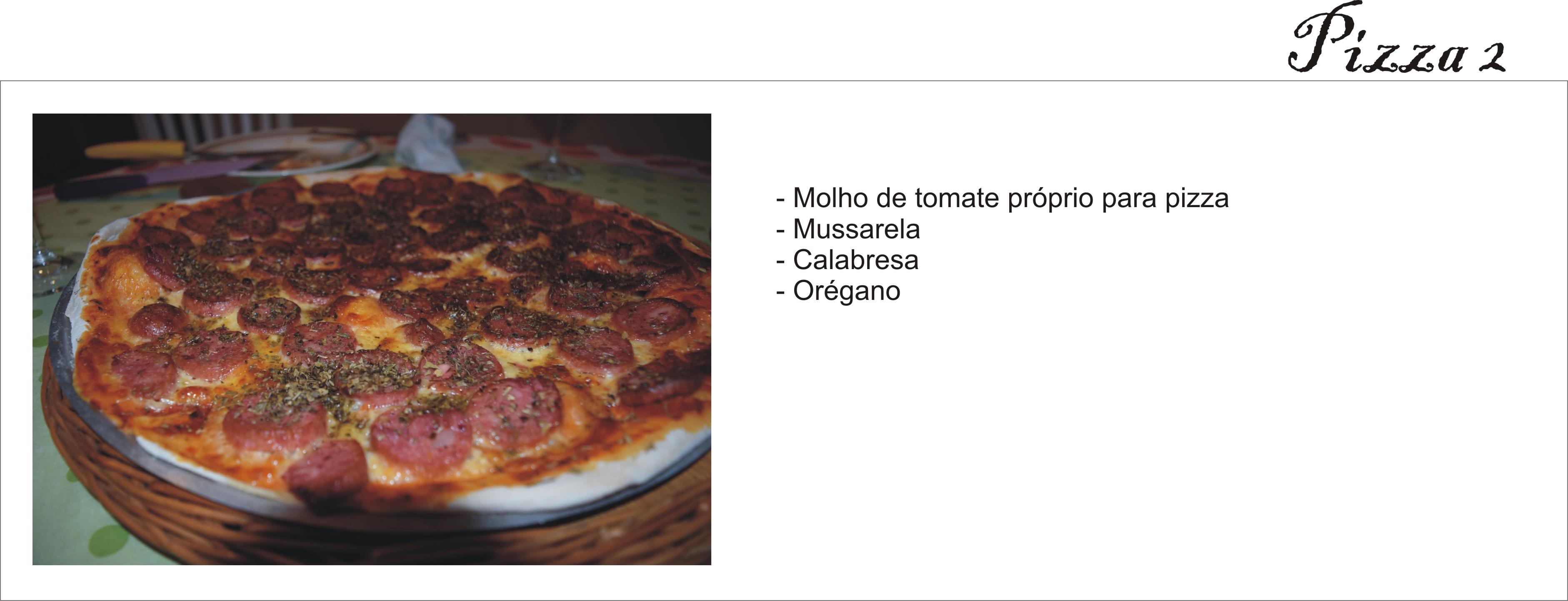 Pizza Calabresa _ Arianne Ribeiro