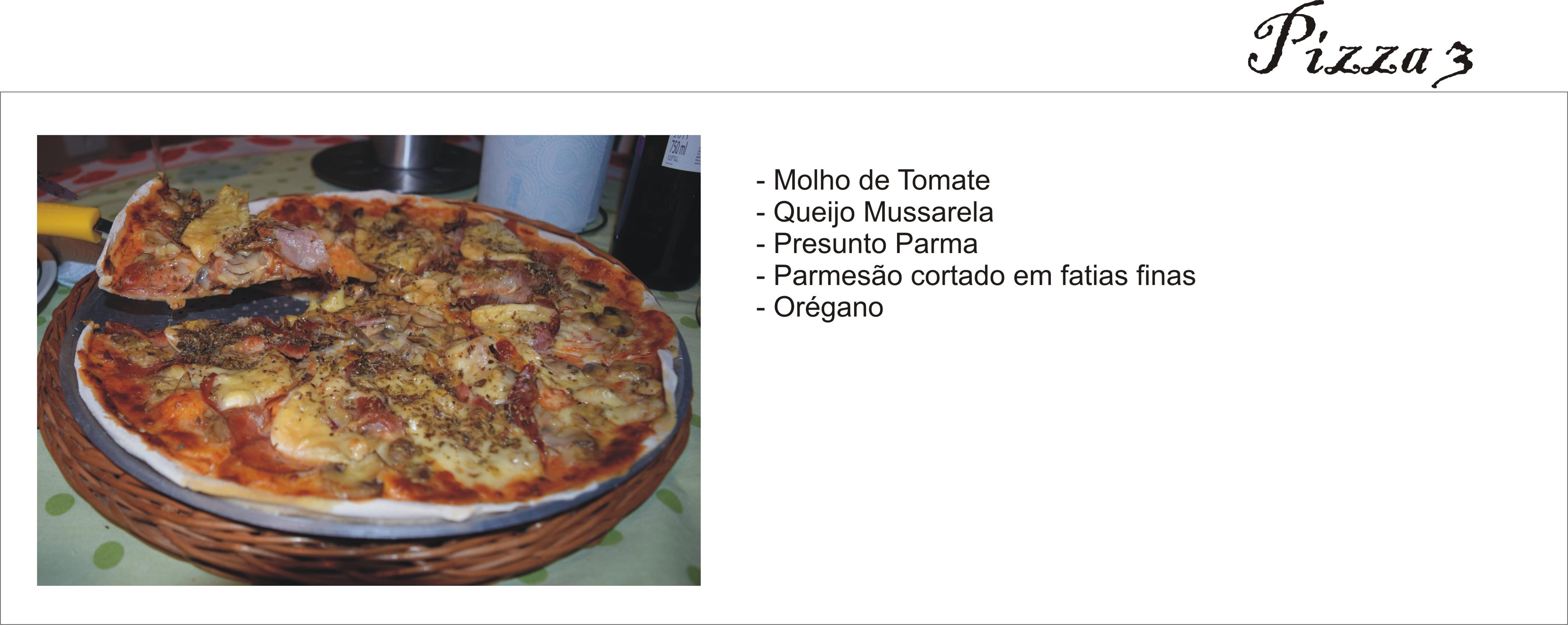 Pizza Presunto _ Arianne Ribeiro