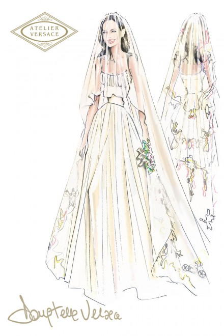 Angelina-Jolie-wedding-dress-sketch