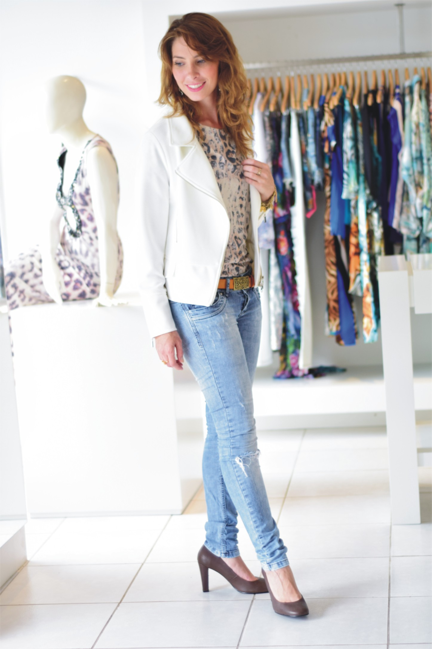 Jeans + animal print 001 _ Arianne Ribeiro