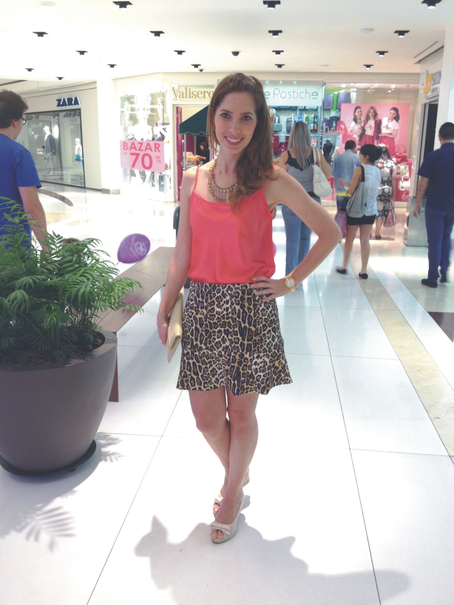Look do dia _ Animal Print _ Arianne Ribeiro