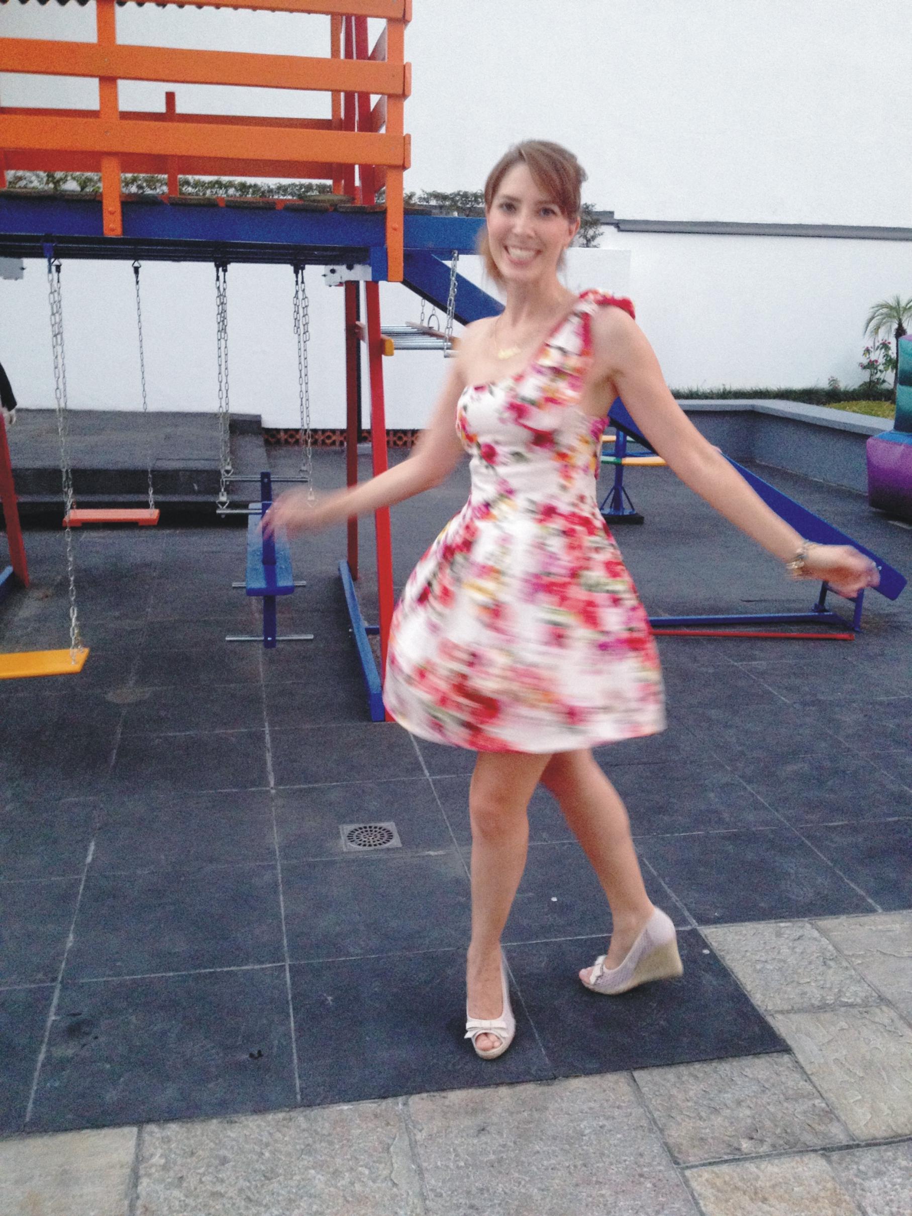 OOTD 3 _ vestido estampado _ Arianne Ribeiro