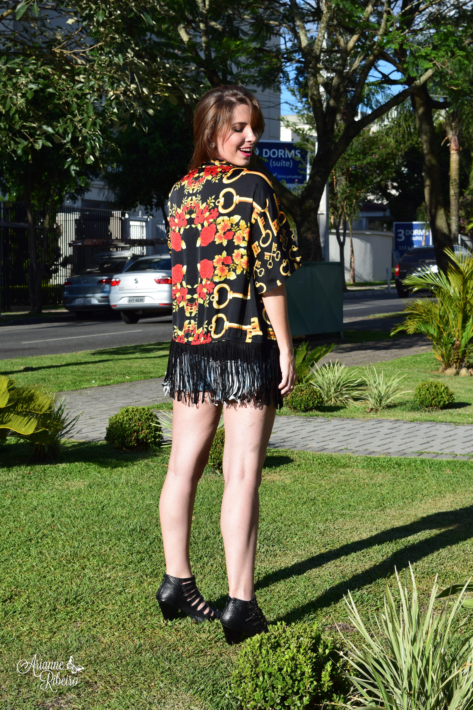 Kimono preto _ Arianne Ribeiro