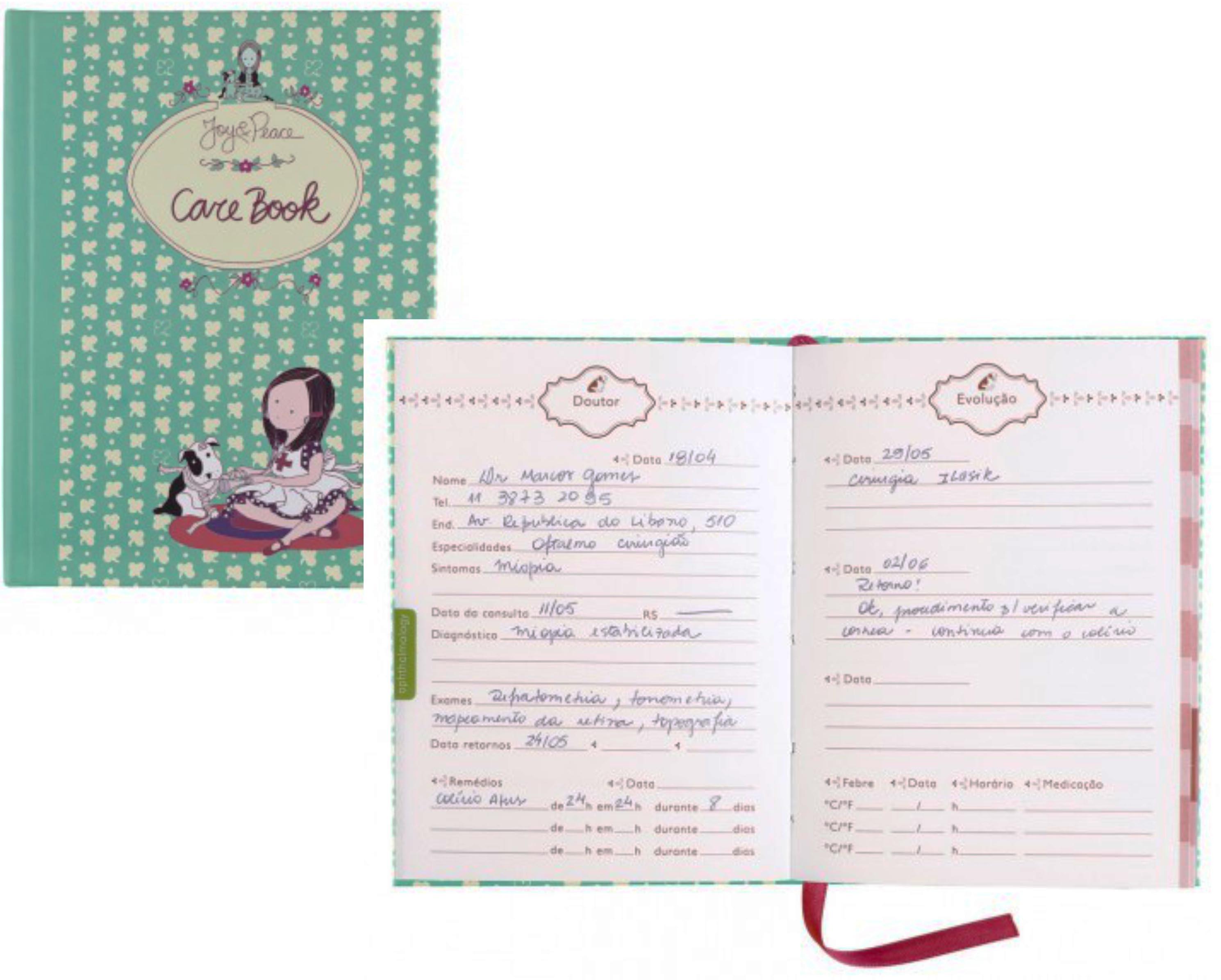 Caderno de consultas médicas